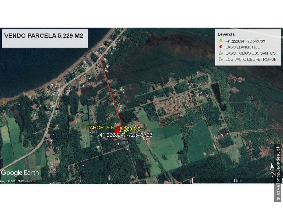 vende terreno 5229 m2 sector ensenada