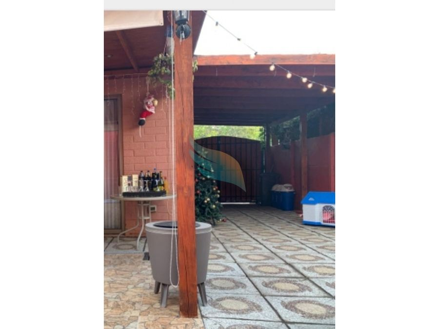 arriendo hermosa casa 2d2b1e san bernardo sector las palmas
