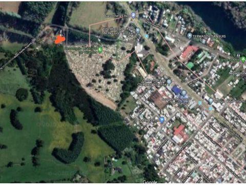 vende terreno a 5 cuadras de centro villarrica
