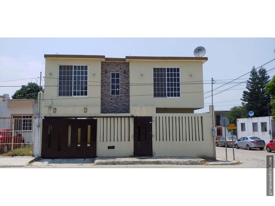 casa en venta en tampico 3 recamaras