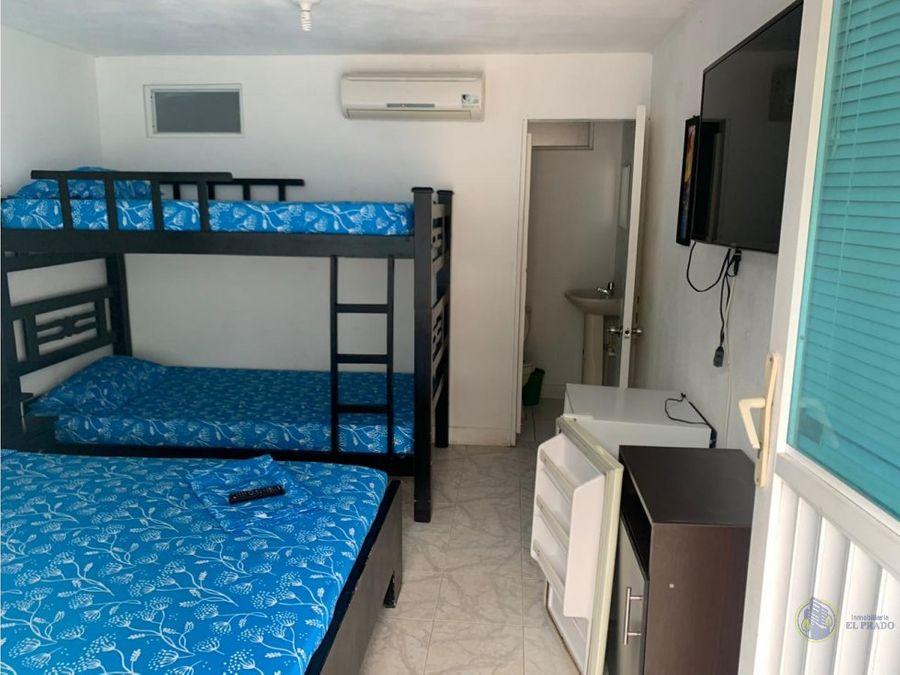 se vende hotel en el rodadero cerca del mar