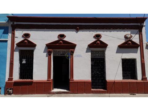 casa en venta en el centro historico