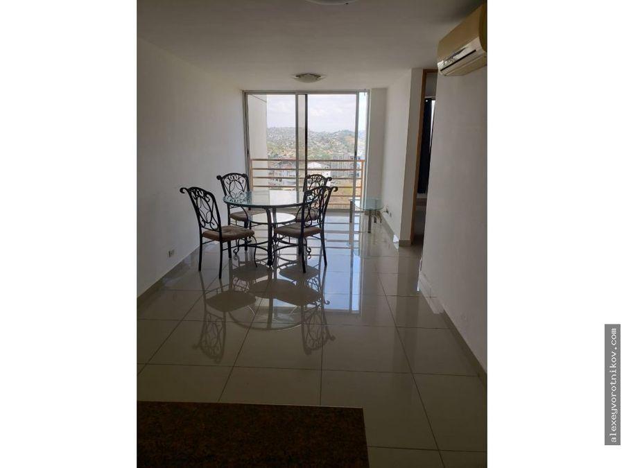 se vende comodo apartamento en via cincuentenario