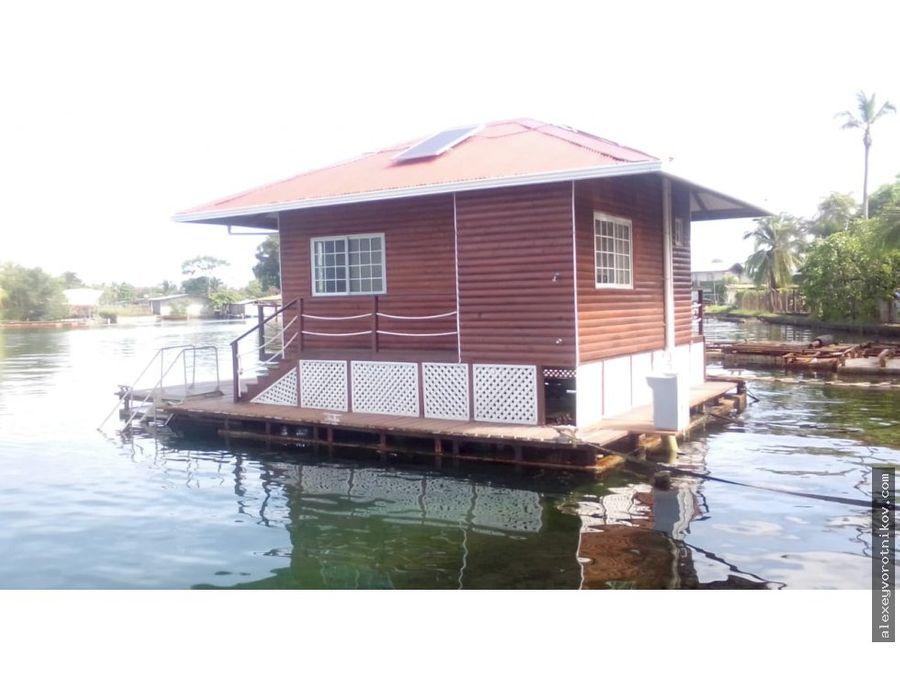 aprovecha tener tu libertad se vende casa flotante