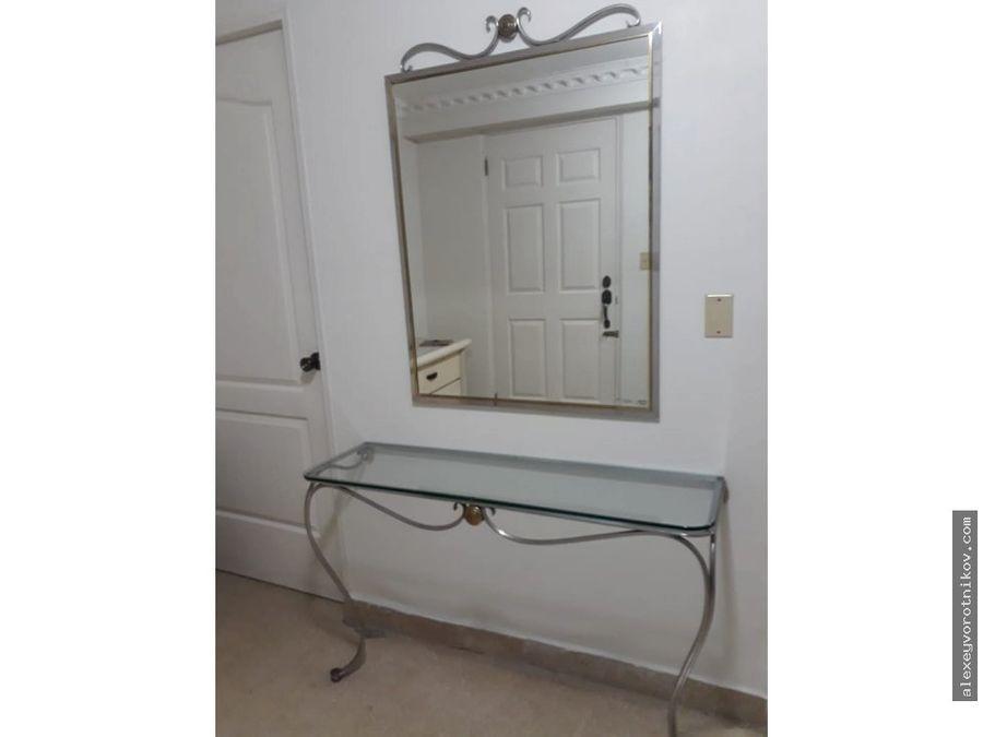 alquilar de apartamento ubicado en calle 50 mg