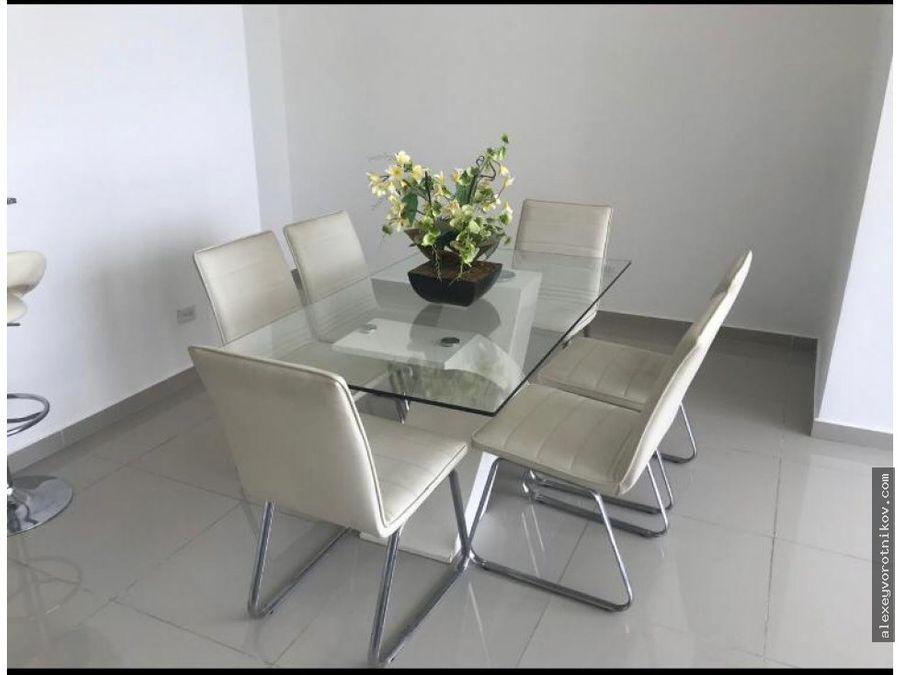 alquiler de apartamento en ph quadrat amueblado mg