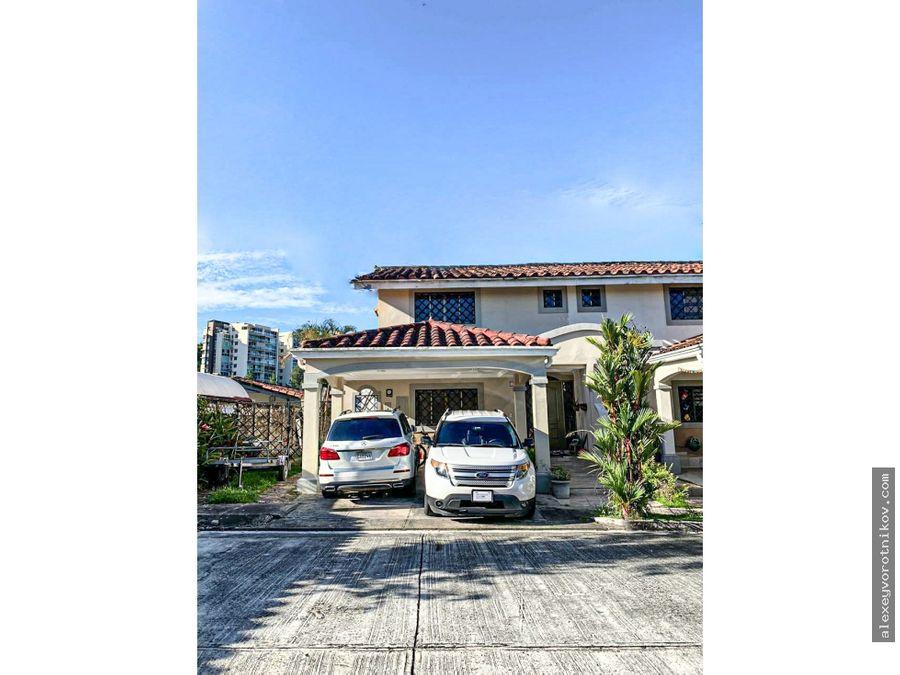 venta o alquiler de casa en residencial firenze ubicado en albrook