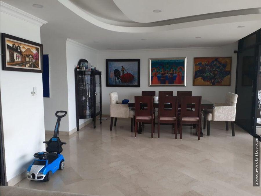 apartamento con hermosa vista a la venta ubicado en paitilla mg