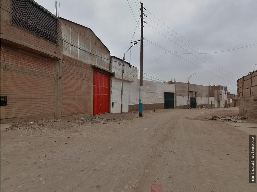 alquiler de local industrial en callao