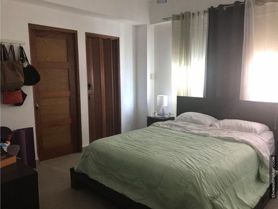 apartamento 3hab amueblado en evaristo