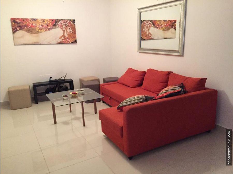 apartamento 2hab amueblado cpiscina evaristo