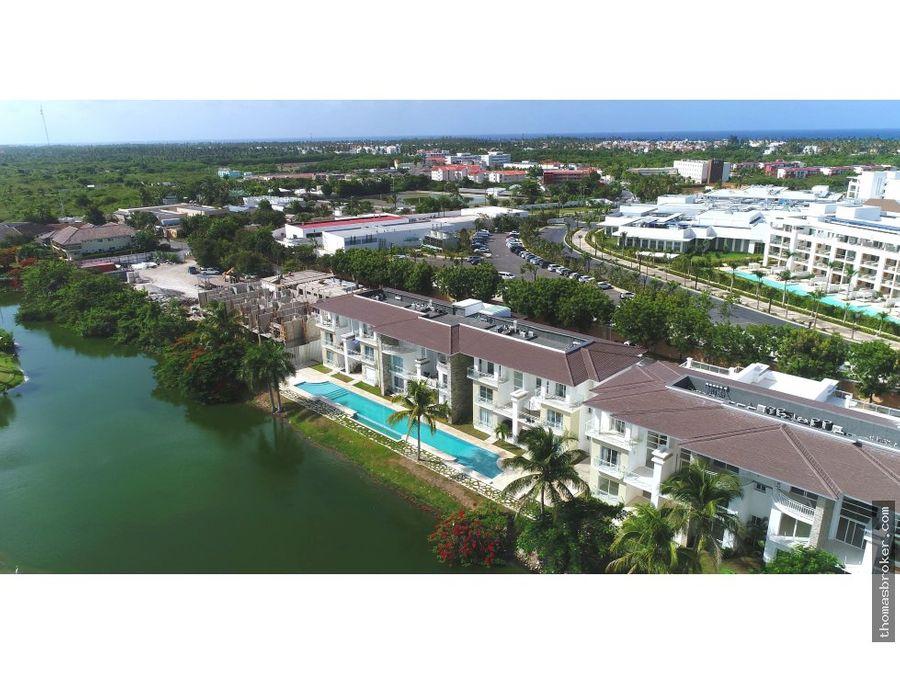 apartamentos 3hab de lujo frente lago bavaro