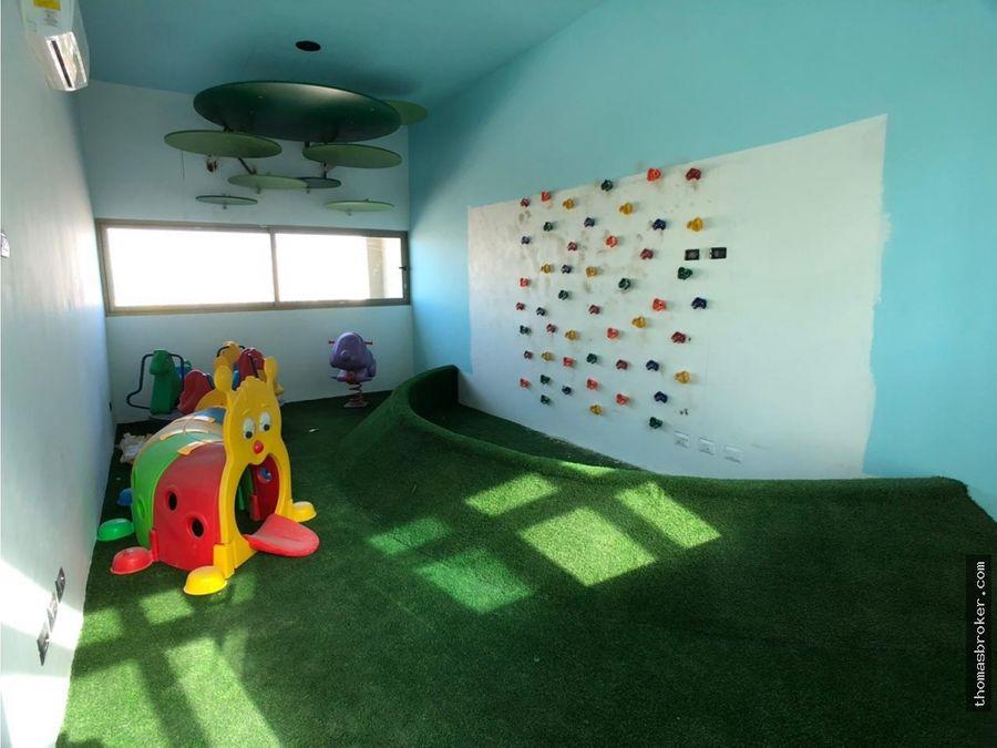 apartamento 1hab amueblado moderno piantini