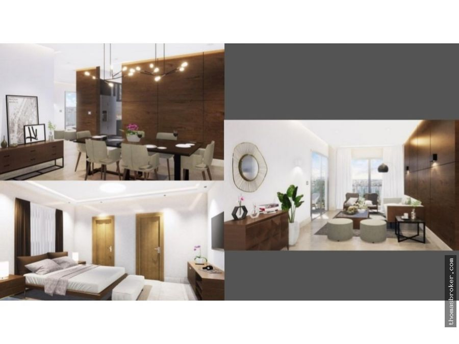 apartamentos 3hab con area social y gym 2020