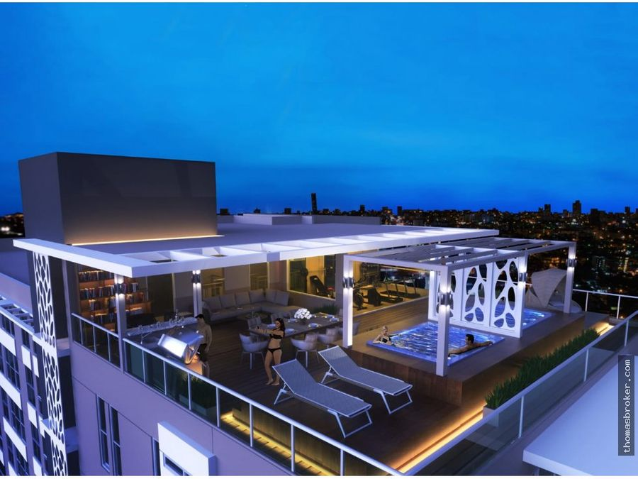 apartamento 2hab carea social rooftop evaristo