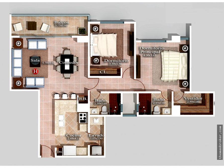 apartamentos nuevos 2hab con area social 2019