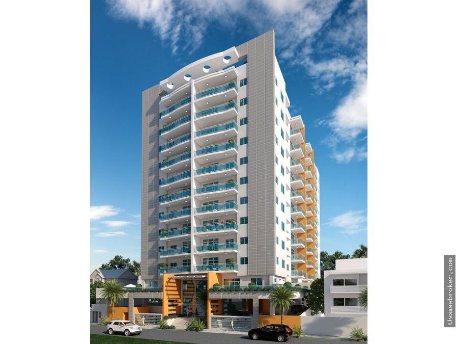 apartamentos nuevos 2hab con piscina naco
