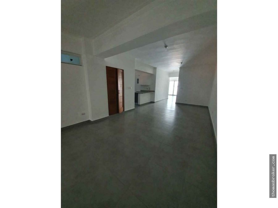 apartamento con terraza 3 habitaciones naco