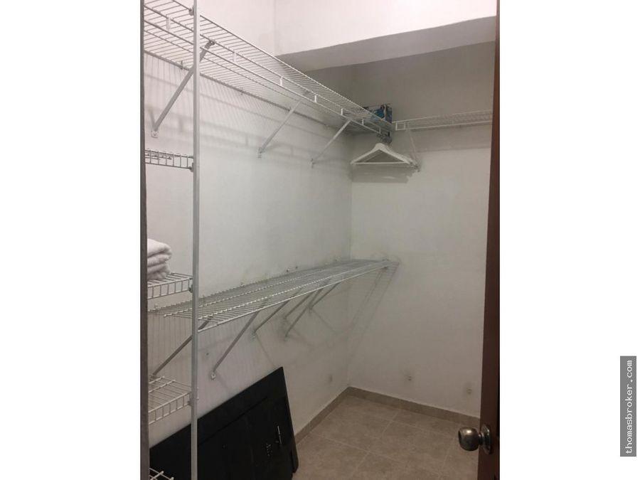 se alquila apartamento 1hab amueblado piantini