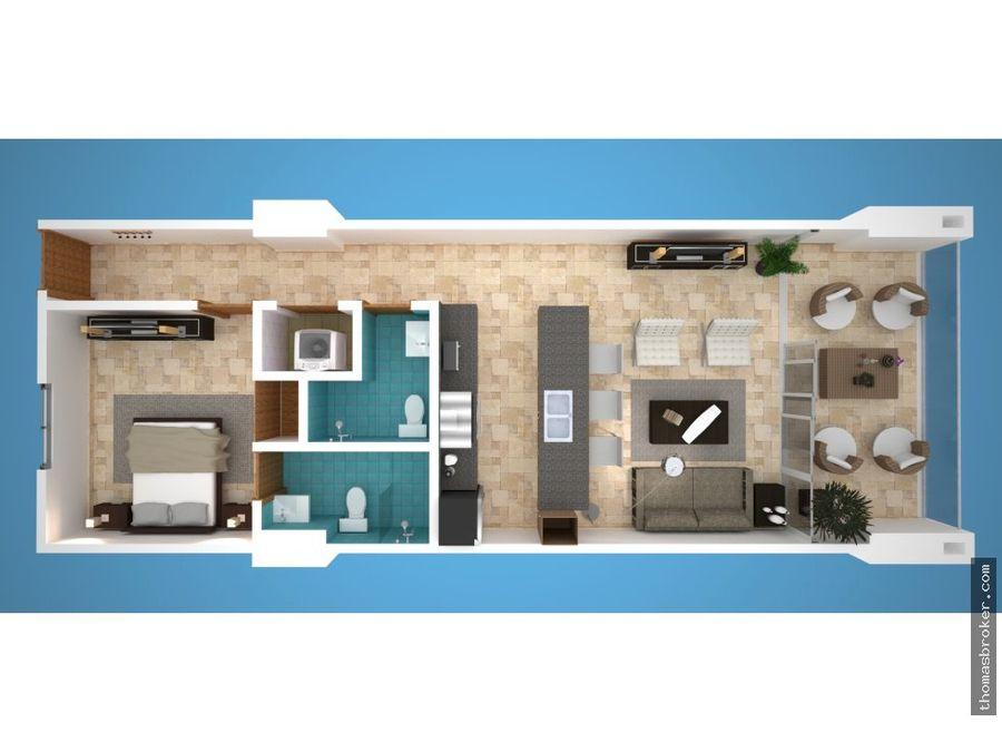 apartamentos vacacionales 1hab juan dolio