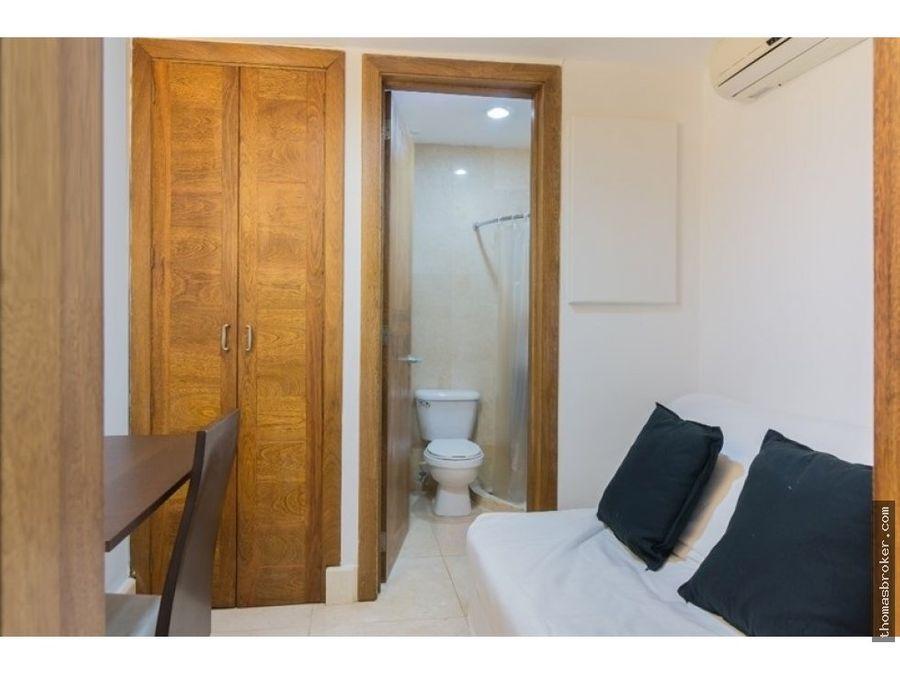 apartamento 2hab finamente amueblada piantini