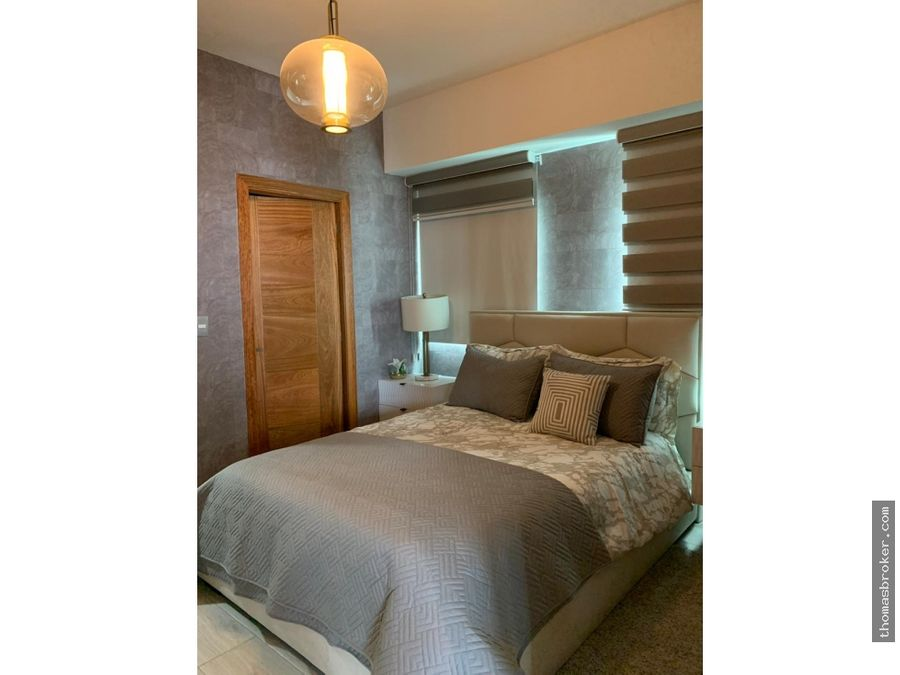 apartamento 2hab amueblado moderno el vergel