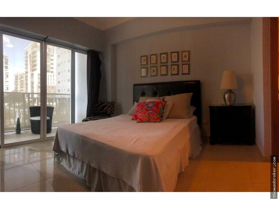 apartamento 2hab moderno amueblado piantini