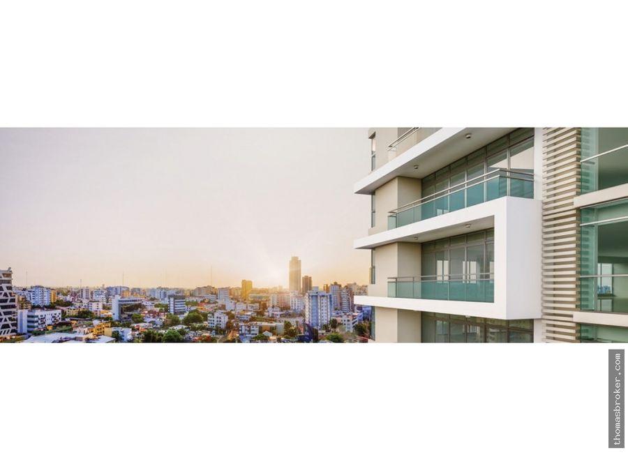 apartamentos 1hab lujo nuevos en piantini