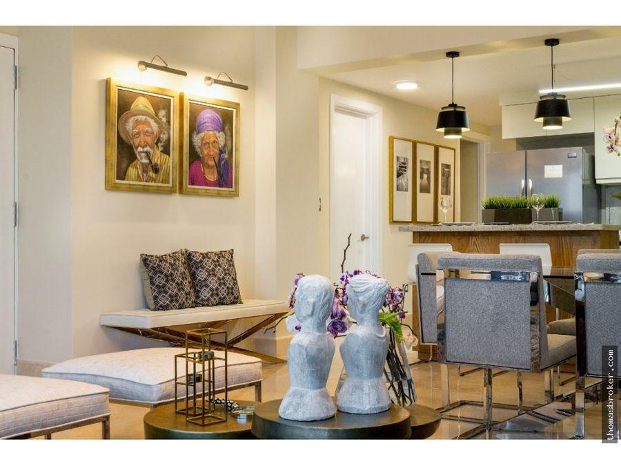 apartamento lujo 2hab amueblado piantini