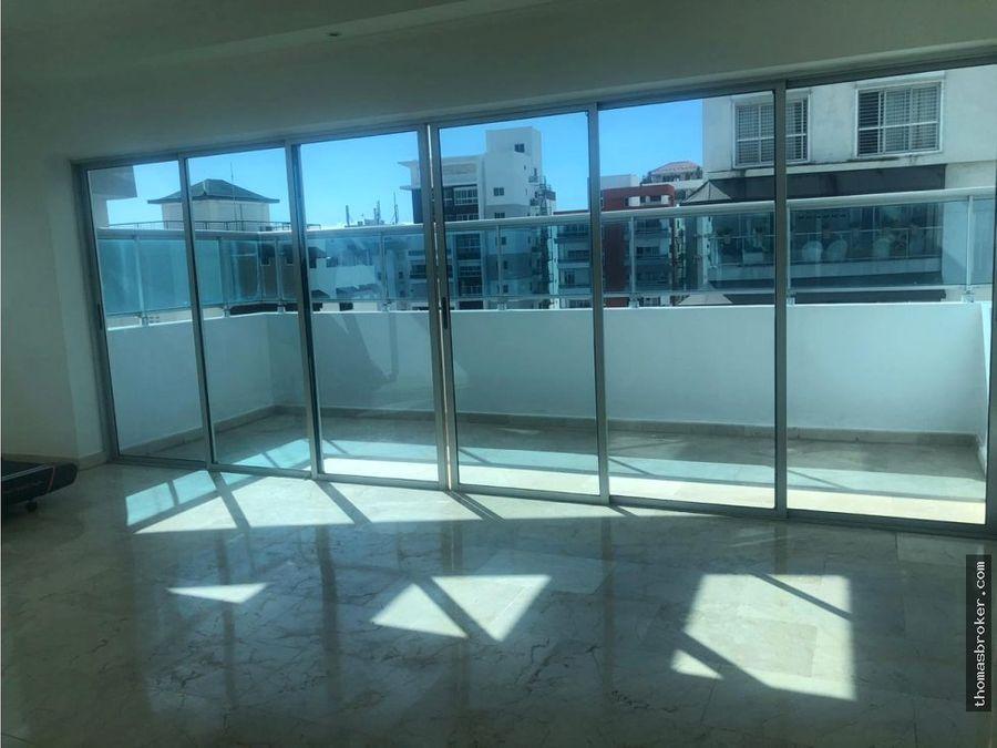 penthouse 4habitaciones cpiscina naco