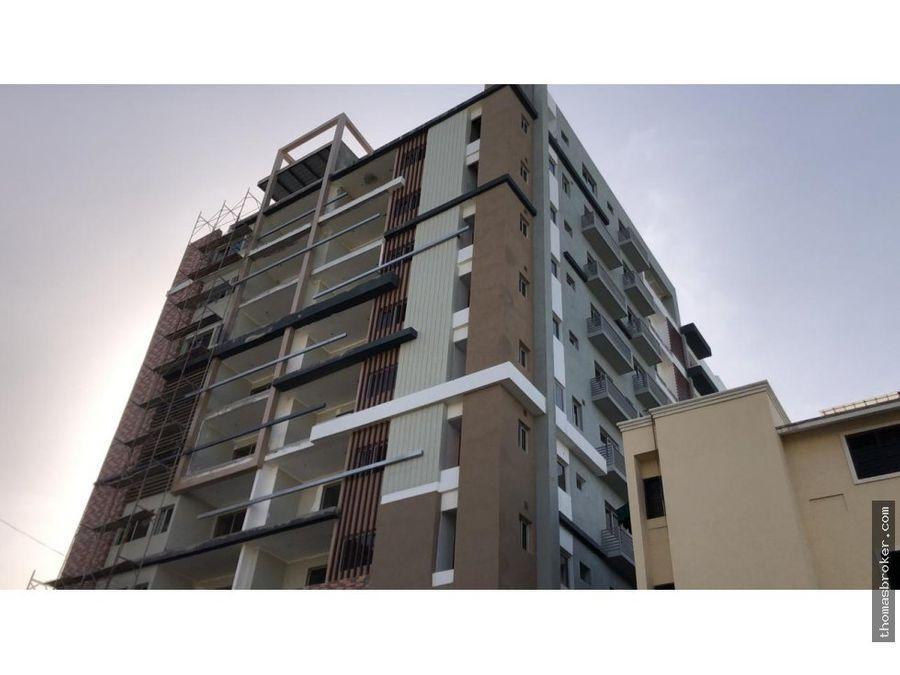 apartamento 2hab lujo c areas social evaristo