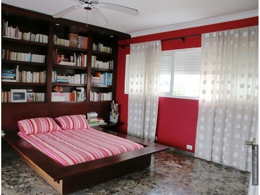 penthouse 3hab amueblado cterraza gazcue