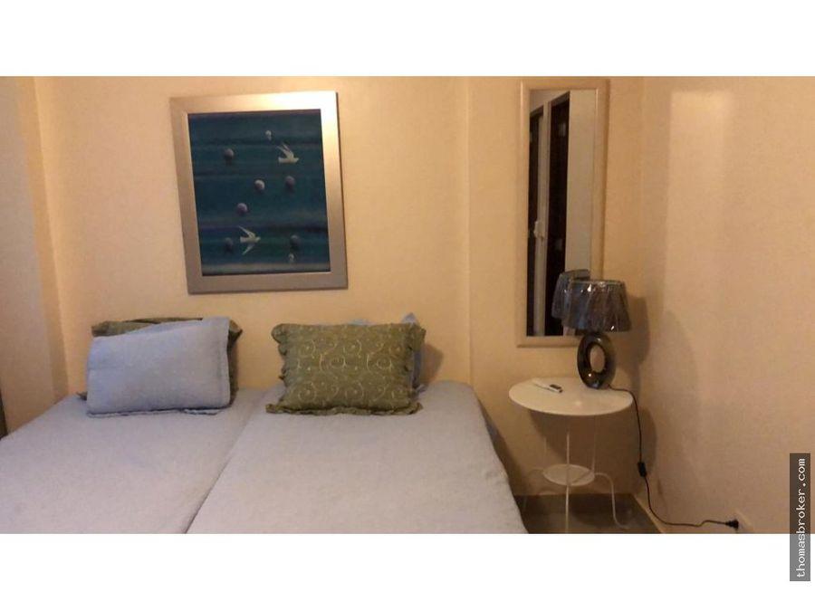 apartamento 2hab amueblado con internet evaristo