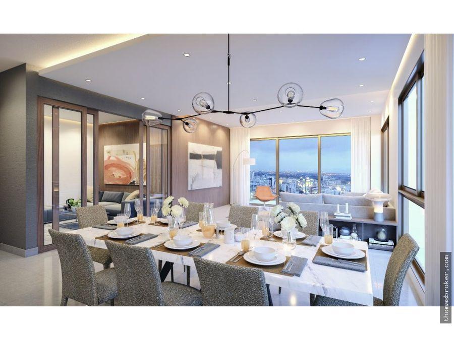 apartamentos 3hab de lujo modernos naco