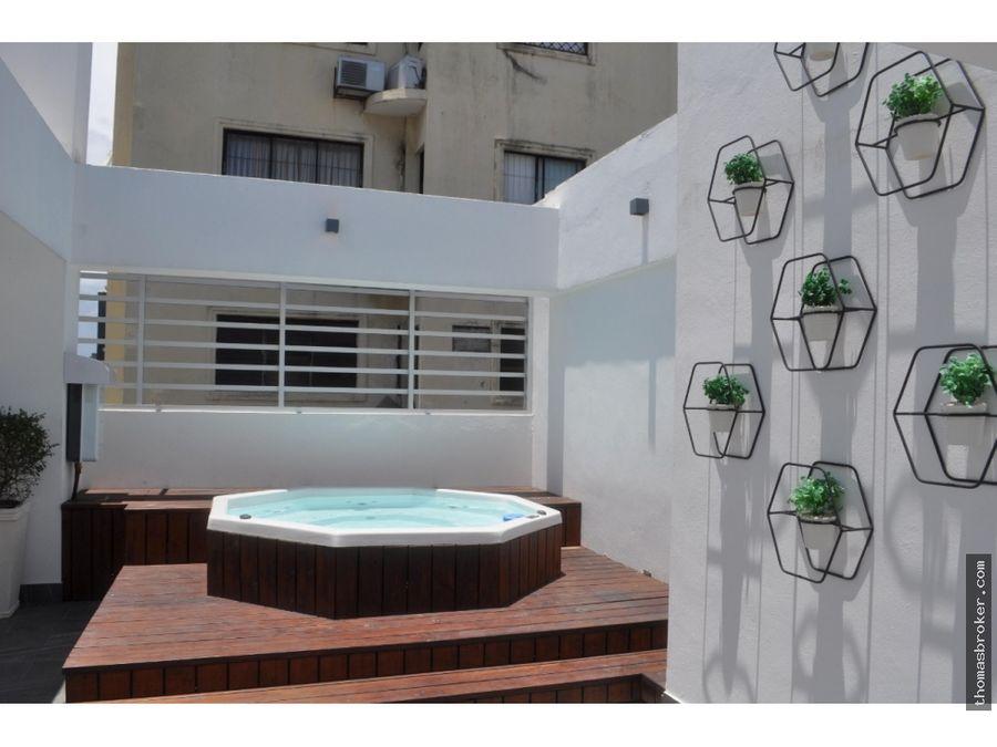 apartamento 1hab moderno clinea blanca naco