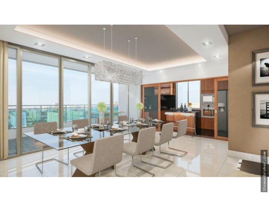 apartamentos 3hab lujo piso alto en piantini