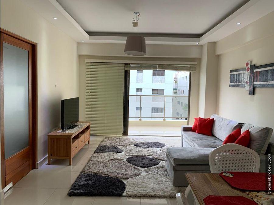 apartamentos 2hab amueblado carea social y gym
