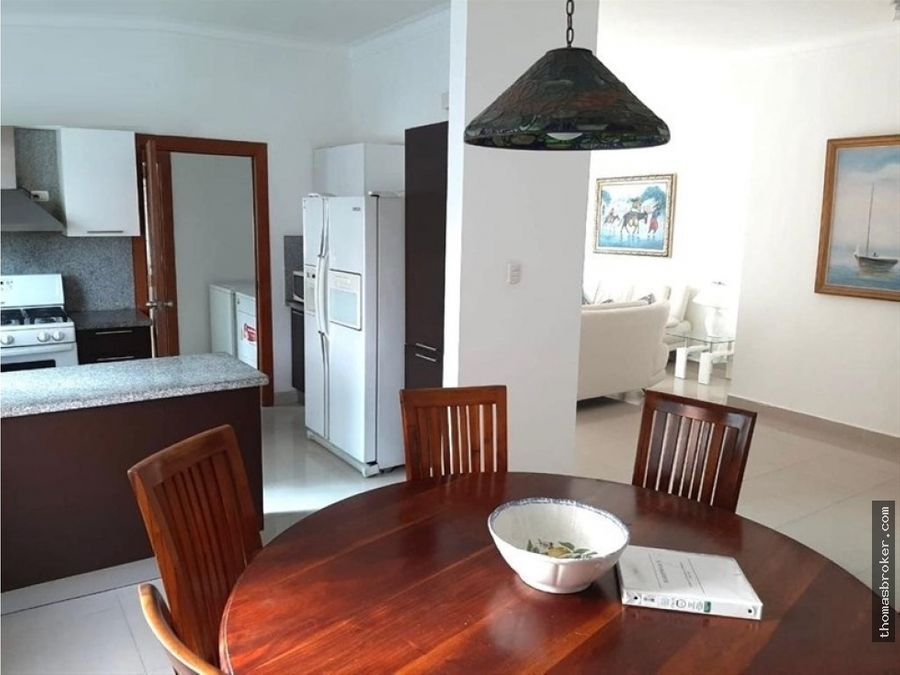 apartamento 3hab amueblado en bella vista