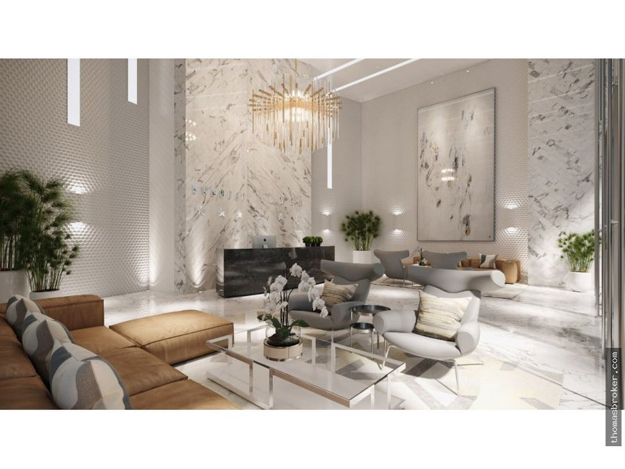 apartamentos 1hab estilo hotel piantini