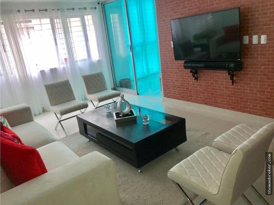 apartamento 3hab amueblado cpiscina paraiso