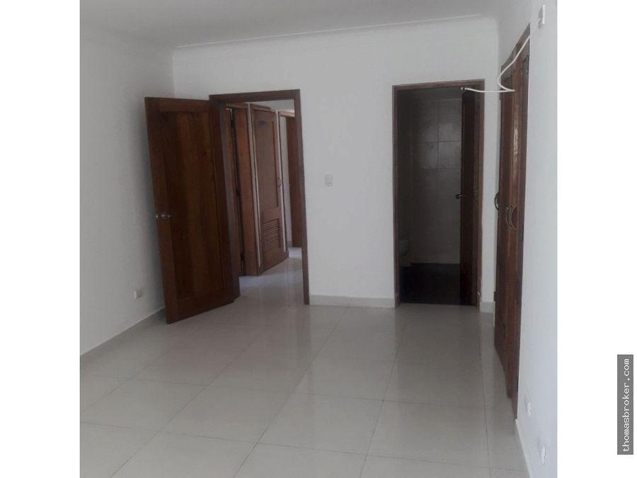 apartamento 3hab moderno en piantini