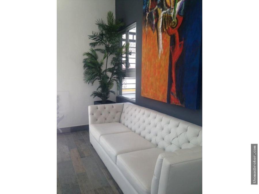 apartamento 1hab amueblado lobby y gym