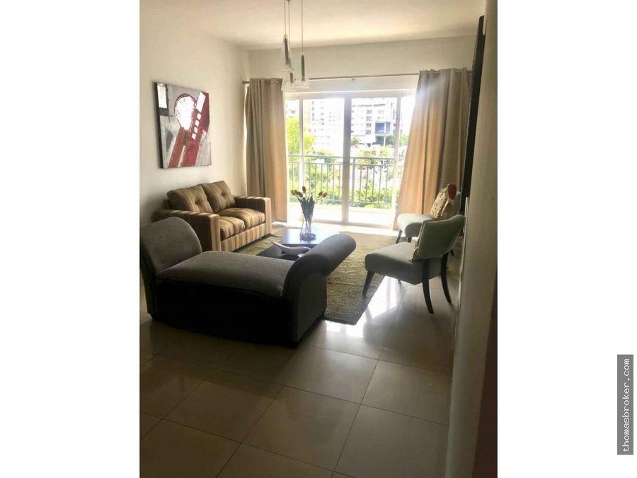 apartamento 2habitaciones amueblado piantini