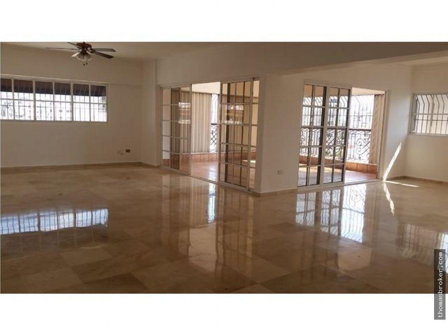 apartamento 3hab en alquiler amplio naco