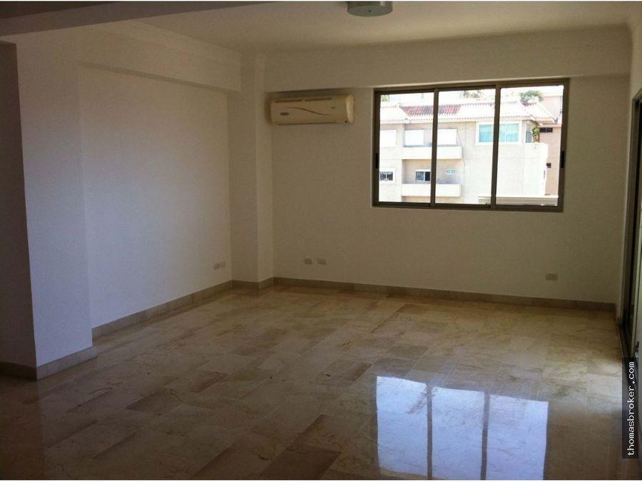 apartamento 3habitaciones con piscina naco