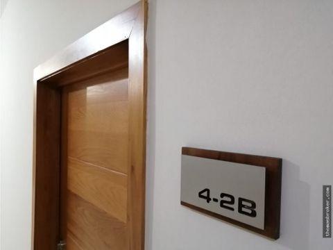 apartamento 1hab amueblado carea social y gym
