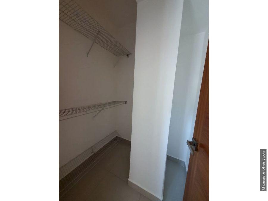 apartamento finamente amueblado 1hab piantini