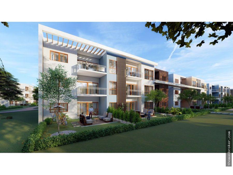 apartamentos 1hab en proyecto privado bavaro