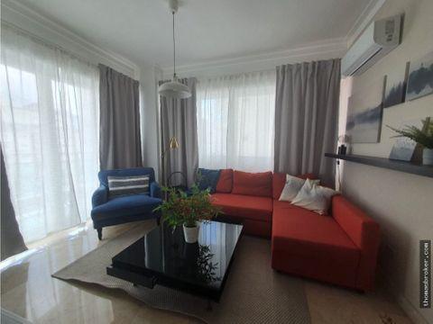 apartamento 2hab lujo amueblado cpiscina naco