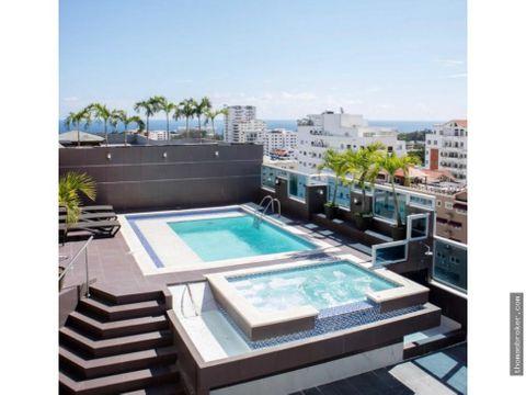 apartamento 2hab fino amueblado bella vista